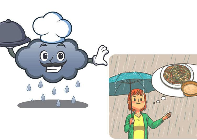 रिमझिम बरसात में खान-पान पर रखें खास ध्यान....