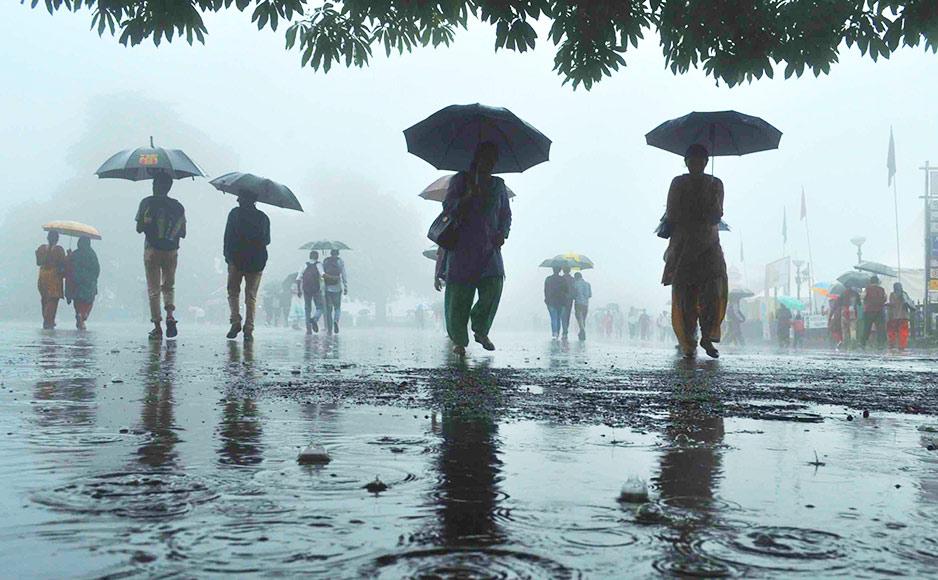 हिमाचल: राज्य के छह जिलों में आज भारी बारिश की चेतावनी