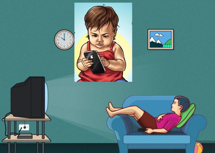 बच्चे का अधिक समय तक मोबाइल व टी.वी. देखना..आंखों के साथ-साथ मस्तिष्क के लिए भी खतरनाक