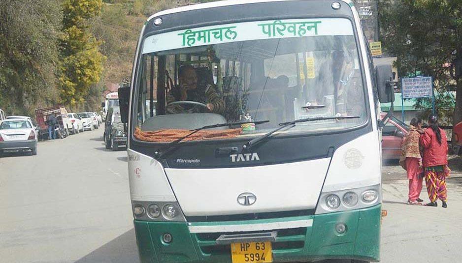 एचआरटीसी ने फिर शुरू की जम्मू- कश्मीर के लिए बस सेवा