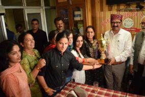 प्रेस क्लब शिमला के वार्षिक पारितोषिक वितरण समारोह में परिवहन एवं खेल मंत्री ने किए पत्रकार सम्मानित