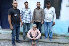 पांवटा: बन्दूक की नोक पर बैंक डकैती करने वाला उद्घोषित अपराधी गिरफ्तार