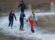 शिमला : आईस स्केटिंग रिंक में हुआ सीजन का पहला स्केटिंग सेशन