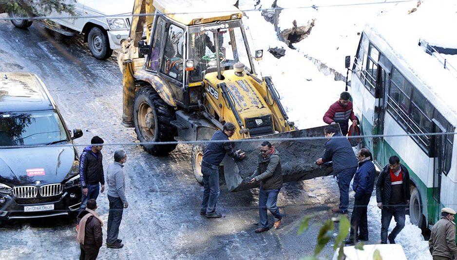 हिमाचल : 12 जनवरी को 'ऑरेंज' अलर्ट, बारिश-बर्फबारी की संभावना