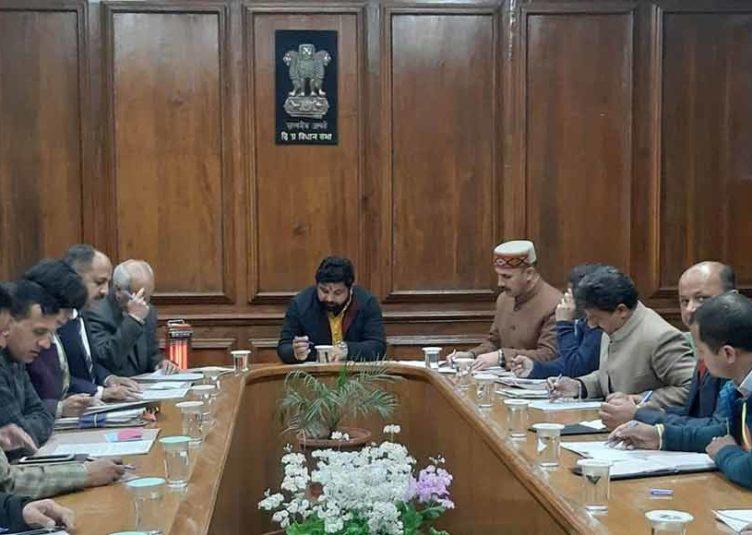 विधानसभा बजट सत्र के दृष्टिगत हंस राज ने की सुरक्षा प्रबन्धों से सम्बन्धित बैठक, सत्र के दौरान जिला प्रशासन को उचित दिशा-निर्देश जारी