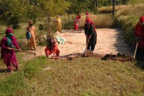 मण्डी/जोगिन्दर नगर: चौंतड़ा शुरू हुआ मनरेगा कार्य, 225 लोगों को मिला रोजगार