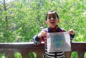 "शिमला दयानन्द पब्लिक स्कूलके विद्यार्थियों ने ऑनलाइन मनाया ""पृथ्वी दिवस"""
