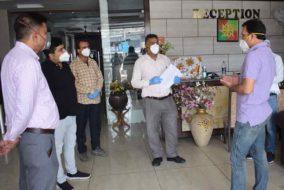 डीसी संदीप ने किया संस्थागत क्वारंटीन केंद्रों को दौरा, दिए आवश्यक दिशा-निर्देश