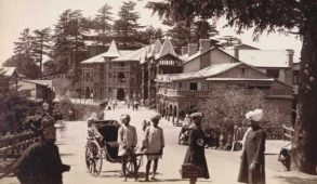 """""""Shimla"""" which was once a small village ..."""