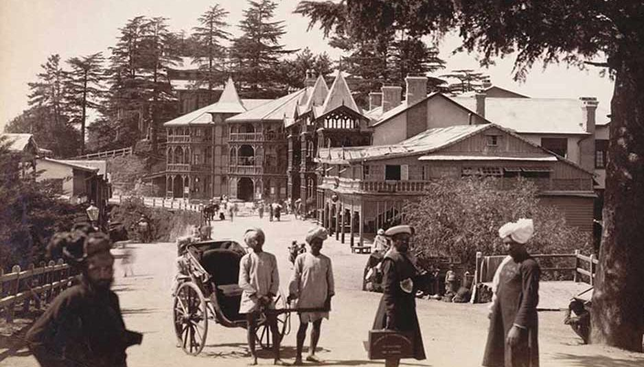 """Shimla"" which was once a small village ..."