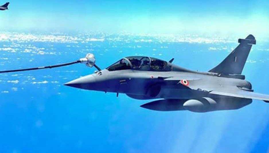 Rafale: अंबाला एयरबेस पर हुई राफेल लड़ाकू विमानों की लैंडिंग
