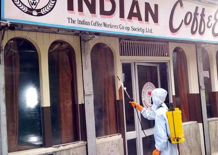 शिमला का इंडियन कॉफी हाउस सील