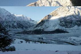हिमाचल की ऊंची पहाड़ियों पर बर्फबारी...