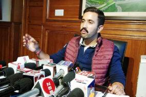 भाजपा की आदत केवल झूठ बोलने की और लोगों को गुमराह करने की : विक्रमादित्य सिंह