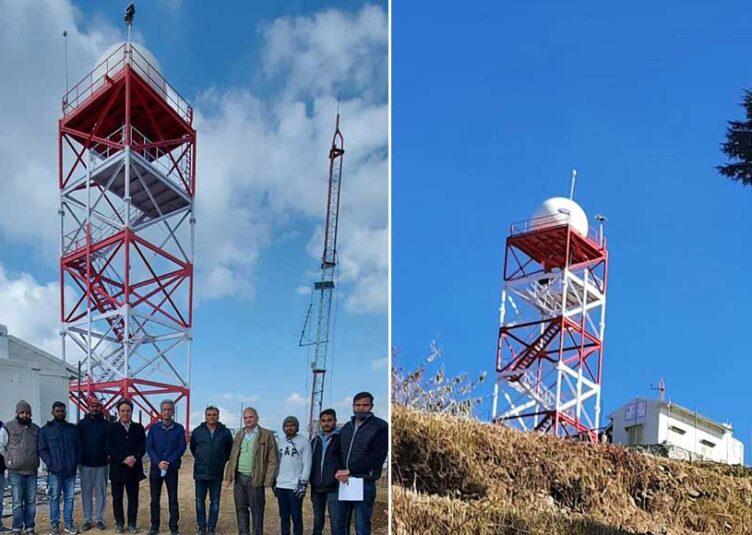 शिमला: मौसम विभाग ने कुफरी में स्थापित किया रडार, मौसम की मिलेगी स्टीक जानकारी