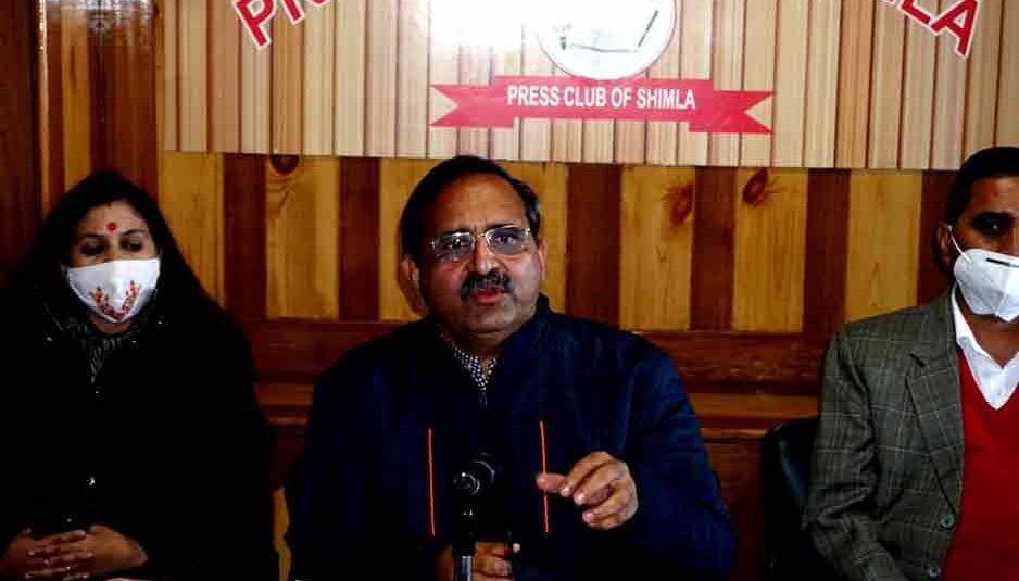 किसान के पास इतना समय नहीं की दिल्ली में बैठ धरना प्रदर्शन करे, यह आंदोलन केवल अराजक तत्वों द्वारा भड़काया जा रहा : रणधीर शर्मा