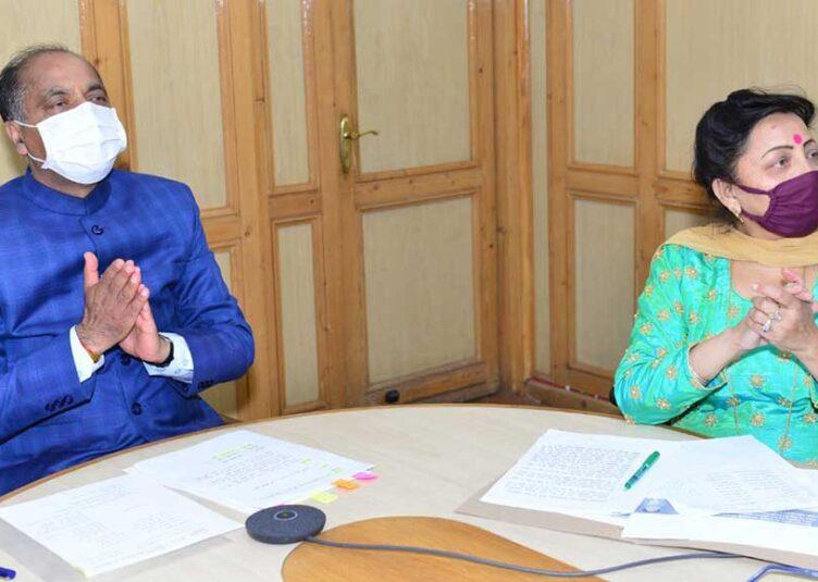 मुख्यमंत्री ने वीडियो कांफ्रेंस से दी शाहपुर विधानसभा क्षेत्र को 22 करोड़ रुपये की सौगात