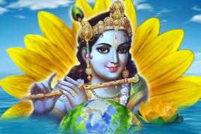 भगवान श्री कृष्ण को गाय दुहते समय गाय के मूत्र में चांद दिख गया था