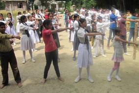 मंगलम स्कूल में दिया जाएगा कराटे का निशुल्क प्रशिक्षण