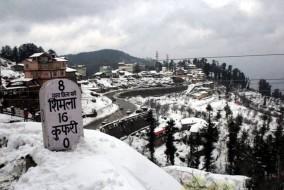शिमला: जिला प्रशासन ने बर्फ़बारी के चलते लागू की नई व्यवस्था