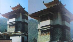 रामपुर बुशहर में स्थित तिब्बतीयन शैली में निर्मित दुम्ग्युर नामक बौद्ध मंदिर