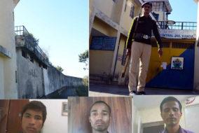 कंडा जेल से फरार तीनों कैदी पुलिस की गिरफ्त में