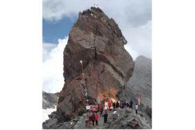 किन्नर कैलाश यात्रा : एक और श्रद्धालु की मौत, खराब मौसम के चलते यात्रा स्थगित