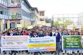 कुमारसैन: छात्रों ने जाना वोट का महत्व